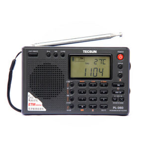 TECSUN PL-380 Portable Radio AM FM Stereo Shortwave LW DSP World Band Receiver