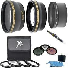 Accessory Lens Kit for Kodak Z612 Z712 Z812 Z1012 Z8612 IS