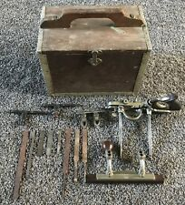 Stanley No. 45 Combination Plane with Cutters & Accessories in Wooden Box