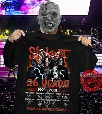 Slipknot Rock Band Music Legend 26 Years Anniversary Signature T-Shirt, Fan Gift