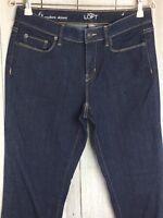 Ann Taylor LOFT Dark Wash Modern Skinny Jeans Size 6
