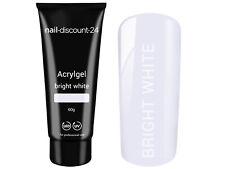 XXL Poly AcrylGel bright white weiß 60g Tube Dual System Primer Liquid Pinsel
