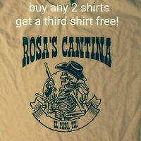 Grateful Dead and Company T Shirt El Paso Rosa's Cantina classic country tan