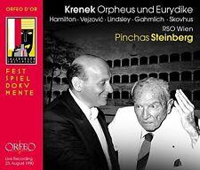 Krenek / Steinberg / - Ernst Krenek: Orpheus und Eurydike [New CD]