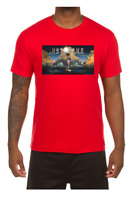 Men's Hustle Gang Red Preview Hustle T-Shirt