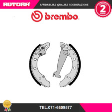 S85511 Kit ganasce freno post Audi-Seat-Skoda-Vw (MARCA-BREMBO).