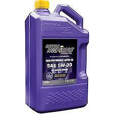 Royal Purple HPS 5W30 Performance 5 Litre Full Synthetic Engine Oil 5L