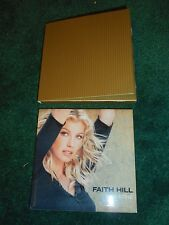 FAITH HILL - BREATHE - ORIGINAL PROMO CERAMIC COASTER - 1999