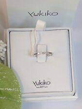 Anello donna FEDINA  ORO 750 18 KT  5 diamantI CIELO VENEZIA YUKIKO mis 14
