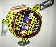 Airhead Heavy-Duty 12Ft Boat Tow Rope Harness and 6 Free Insect Repellants