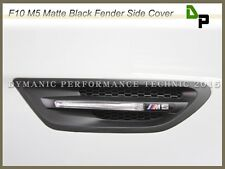 One Pair of Matte Black Fender Side Cover For 2012-2016 BMW F10 Model M5 Only