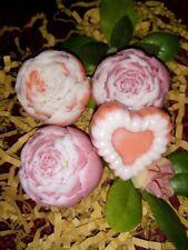 Handmade Soap Flower  UK Roses