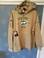 NEW YORK JETS 2019 Nike NFL Salute to Service Therma-FIT Hoodie Men's 3XL New