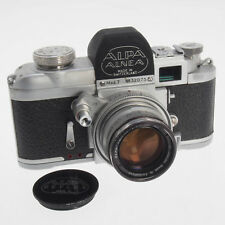 Alpa Alnea Mod 7 Collectible Swiss SLR Camera w/ Kern Swiatar 50MM F1.8 AR AS-IS