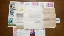 300th ANNIVERSARY of NEW YORK CITY 1953 First Day Covers. POST OFFICE  ERROR!!!