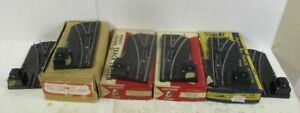 AMERICAN FLYER 'S' REMOTE SWITCH LOT (3 RIGHTHAND & 3 LEFTHAND INCLUDED!)