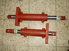 Lenkzylinder Hydraulikzylinder doppelhub Gleichlaufzylinder 63cmLang 45/75mm