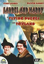 "DVD - ""Flying Dueces"" & ""Toyland"" - Stan Laurel & Oliver Hardy - Dick & Doof"