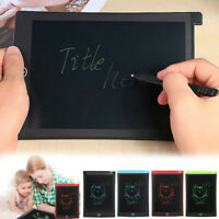 "8.5"" Electronic LCD Memo Graphic Drawing Tablet Writing Pad Painting Board Reade"