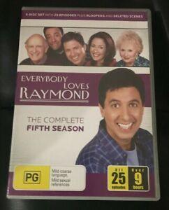 Everybody Loves Raymond : Season 5 (DVD, 2006, 5-Disc Set)Very Good Condition R4