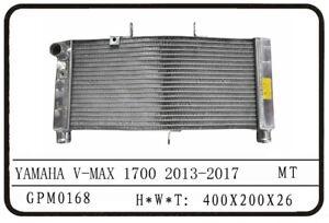 YAMAHA VMAX 1700 13-17 PREMIUM POLISHED ALUMINUM RADIATOR, 26MM CORE
