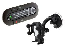 SuperTooth Buddy 2.1 Handsfree Bluetooth Visor Car Kit with In-Car Phone Holder