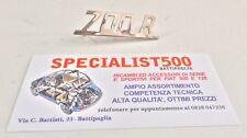 SCRITTA IN METALLO PER FIAT 500 GIANNINI 79x22mm