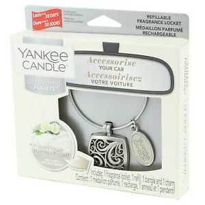Yankee Charming Scents Candle Refillable Car Locket Air Freshener Fluffy Towels