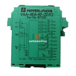 1PCS USED FOR PEPPERL + FUCHS Safety relay grating VAA-4EA-KF-ZE/E2