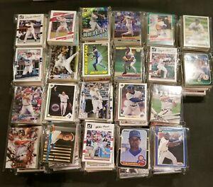 Guaranteed Rookies! 100 Card Lot of Baseball Cards-'80's-2020's!! HOF's, Stars!!