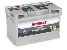 Batterie voiture Rombat EB370 12v 70ah 680A 278x175x175 idem E38 E43 VARTA