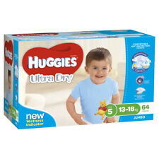 Huggies Ultra Dry Nappies Walker for Boys - 64 Pack