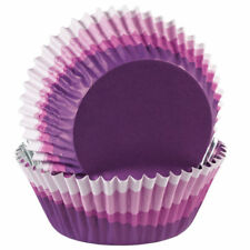 Wilton 36 Pack ColorCups OMBRE PURPLE Cup Cakes Muffin Baking Party Cases 2 Inch