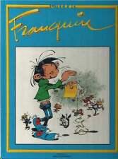 LE LIVRE D'OR FRANQUIN . GASTON , SPIROU ET LES AUTRES ... . VENTS D'OUEST 1984