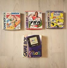 Console Nintendo Game boy color + 3 jeux avec boites