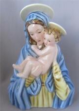 Magnificent Keramos Glass Porcelain Madonna and Child Wien Austria Vienna