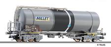 Tillig TT scale 4 axle Tank car MILLET (limited edition)