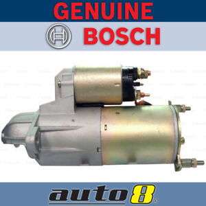 Bosch Starter Motor for Holden Astra TS AH TR 1.8L 2.0L Petrol 98-10 Auto Only