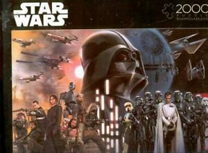 Star Wars 2000 Piece Jigsaw Puzzle Rogue One Rebellion are Built on Hope NIB