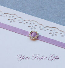 24 ROUND Wedding Invitation Rhinestone Crystal Buckle