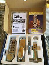 CODELOCKS CL250/255 Series Digital mortice Lock chrome