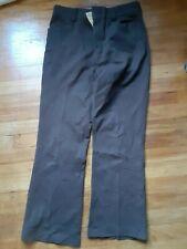 Vintage Men's 28 x 30 Levi's Sportswear Knit Dark Brown Pants Slacks - Good Cond