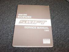 1989-1990 Suzuki Swift Hatchback Shop Service Repair Manual Book GLX GTi 1.3L