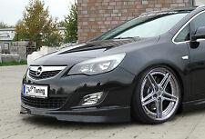 Ingo Noak Spoilerlippe Frontspoiler Frontansatz Spoiler aus ABS für Opel Astra J