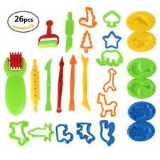 26Pcs/set Dough Tools Set Kit Kids Clay Play Doh Molds Cutting Mould Crafts