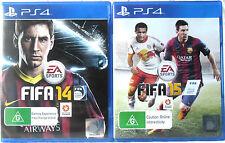 Fifa 14 and Fifa 15 PS4