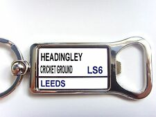 Yorkshire County Street Road Sign Bottle Opener Keyring Gift