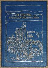 PETER PAN IN KENSINGTON GARDENS ~ BARRIE ~ ILLUS RACKHAM ~ EASTON PRESS LEATHER