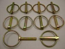 Lynch Pin Klemmen Klappsplinte 8 X 44mm 10 Stück Packung