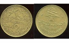 LIBAN   10   piastres 1975